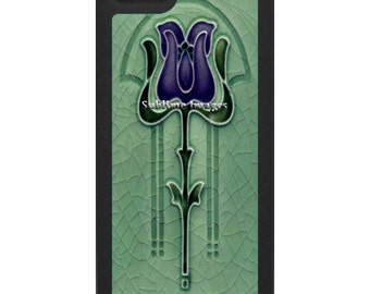 iPhone 6 iPhone 5 iPhone 4 Covers - Art Nouveau Tile Design.