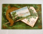 Saint Patricks Day Antique Postcard