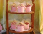 Having a Party - Delightful Cup Cake Fairies - New Zealand wool