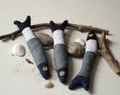 3 linen fishes