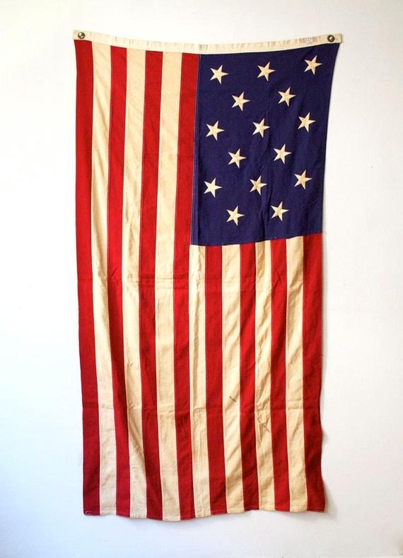 15 Star and Stripe Flag