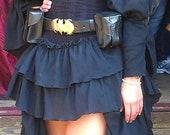 Black Saloon Girl Skirt
