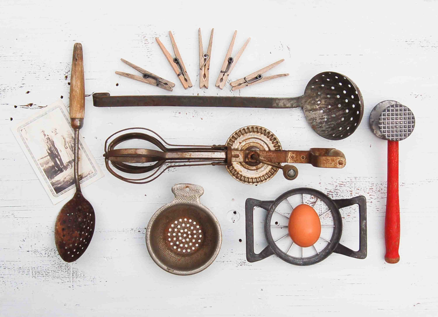 Antique Kitchen Tools ~ Vintage country kitchen tools instant collection