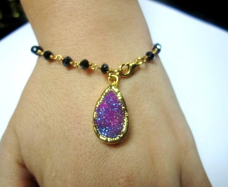 Turkish Druzy Bracelet