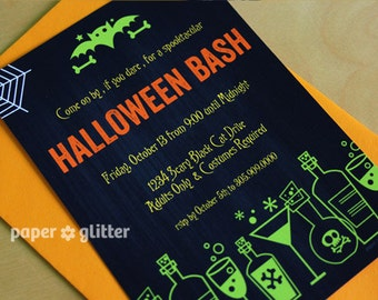 Halloween Invitation - Gothic Invitation