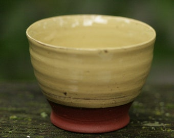 Rustic cup, Citron Yellow #1