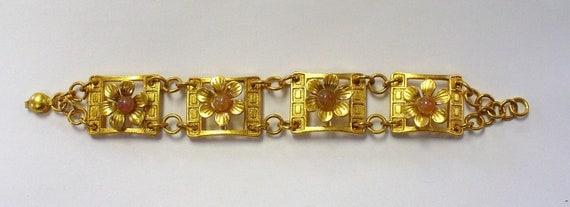 Vintage Baroque Antique Style Bracelet DEADSTOCK