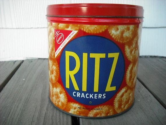 Vintage Tin Cracker Cookie Ritz
