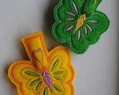 Butterfly Bag Clip Refrigerator Magnet Set of 2 40% Off