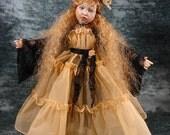 "Kaye Wiggs 18"" BJD and Helen Kish 16"" Doll Clothes E Pattern PDF File  Misty Night  ET"