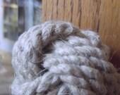Rustic Decor - 2 Nautical Doorknobs in Hemp Rope - Rustic Doorknobs