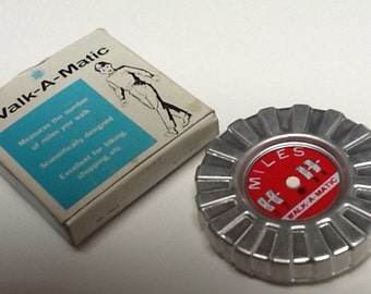 Walk-A-Matic Vintage Pedometer