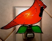 Bright red cardinal light light