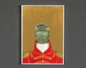 Art Print - Turtle - Signed by Artist - 8x10 // 16x20 // 22x28