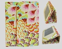 Standable Kindle Cover, Kindle Fire Case, Nook Cover, Kobo Case, Nexus 7 Cover, Kindle Fire HDX, iPad Mini Dell Venue Peacock Feathers Blush