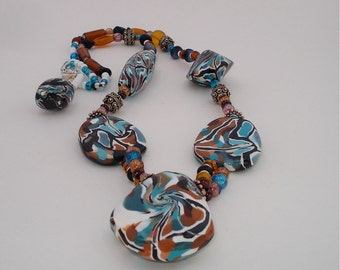 Michaelangelo Stained Glass Necklace