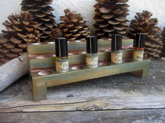 Rita's Ritual Perfume Oil Shelf - Witchcraft, Pagan, Hoodoo
