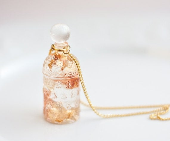 Resin Jewellery Pendant Resin Pendant Perfume Bottle