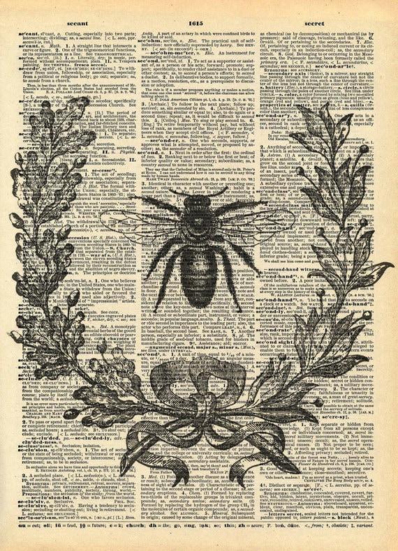 Vintage Honey Bee Prints Wwwpicswecom