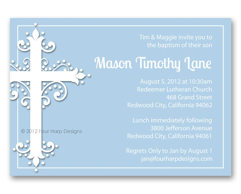 Make Your Own Baptism Invitations Free was nice invitations design