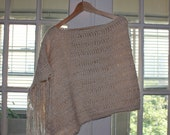 Asymmetrical Poncho MADE TO ORDER
