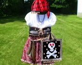 Gypsy Pirate Princess costume - custom made for children sizes 4 to 10