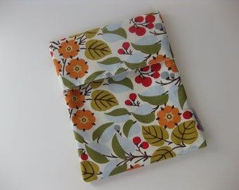 Snack Bag Sandwich Bag All Cotton Eco Friendly - Berry Branches