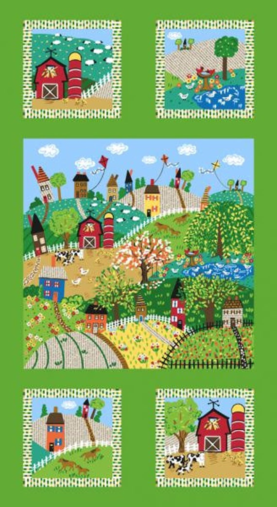 Farm Panel, Good Seasons - Spring