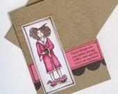 Funny Card, Coffee Humor, Friendship, Funny, Card for Her, Humorous Card for Friend, Girlfriend Humor, Coffee, Men