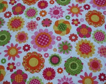 Big Dots & Flowers 2 Quilt