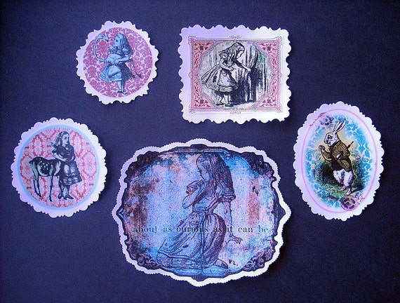 FANCY ALICE STICKERS- To Bring More Magic to Your World