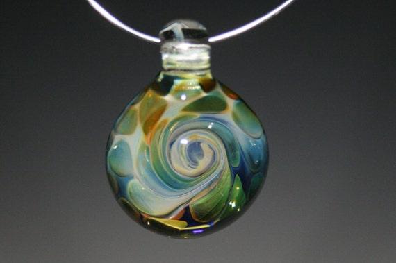 Lampwork Pendent - Boro Pendant - Glass Pendant -Glass Jewelry- Focal Bead- Kyle Keeler