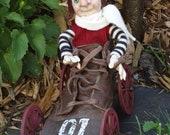 OOAK elf soap box racer