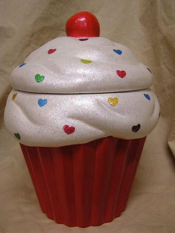 Rainbow Love Cupcake Jar