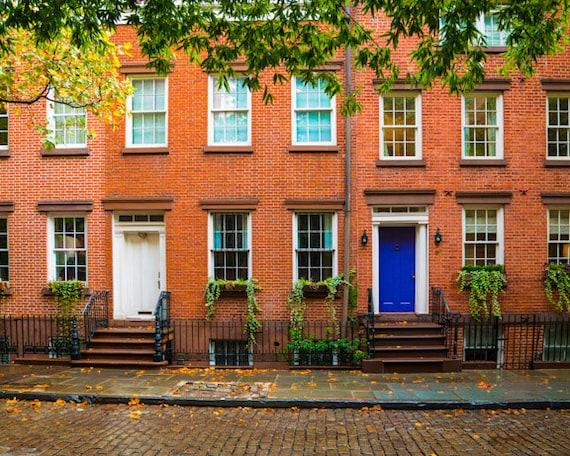 New york photograph greenwich village by deeplightphotography for Nyc greenwich village apartments