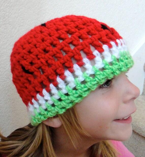 Watermelon Hat Child Toddler Teen