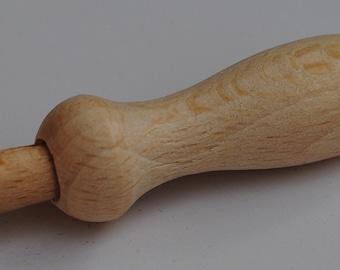 Wooden Needle Felting Handle / Tool for One Needle