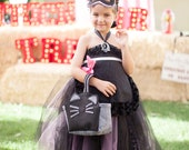 As Seen on Gilt, Beautiful Black Cheetah Cat Empire Tutu Dress, Sweet Sophistication Style