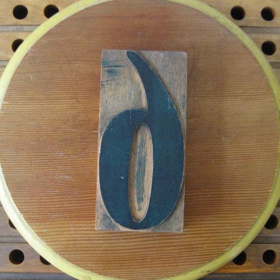 vintage wood nine, vintage wood six, number 9, number 6, print block, letterpress number, wooden printing block