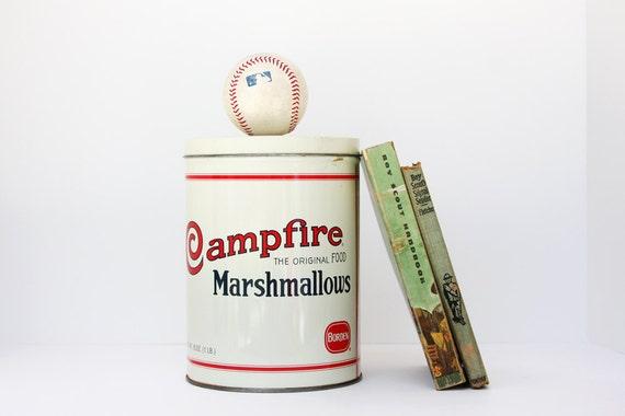 Vintage Campfire Marshmallows Tin