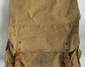 Vintage Boy Scouts Rucksack Hiking Backpack Vintage 60s