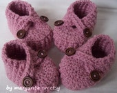 Baby twin  booties , MIX and MATCH your COLORS and sizes