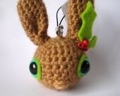 Christmas Tree Decoration - Amigurumi bunny