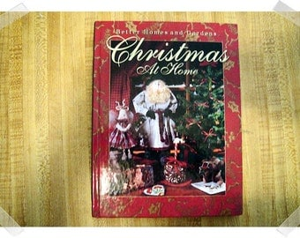 Christmas at Home- Hardcover Craft Book/Vintage- 1992**