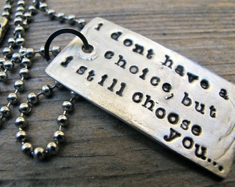 Your Words Dog Tag (Single Tag)
