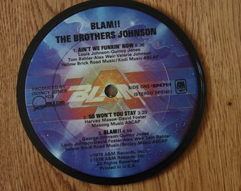 Brothers Johnson Coaster