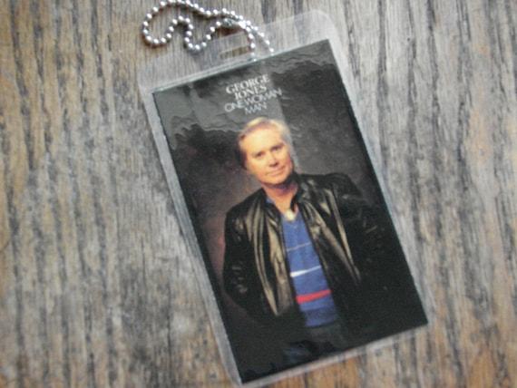George Jones Cassette Tag