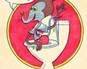 Toilet Mouse - Print