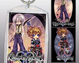 Kingdom Hearts Keychain Double-Sided