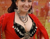 Renaissance Faire Bellydance Corset Shirt / Ghawazee Coat: Customize your own